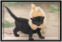 Beautiful custom hand painted oil paintings of your pet from only £39.99 >> pet portrait, dog portrait --> www.petsinportrait.com