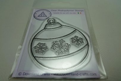 Snowflake Bauble Stamp
