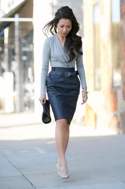 20 Best Fashion Forward Office Wear Images On Pinterest Offices Workwear And Business Outfits