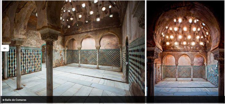 Baño de Comares | La alhambra, Alhambra de granada, Planos