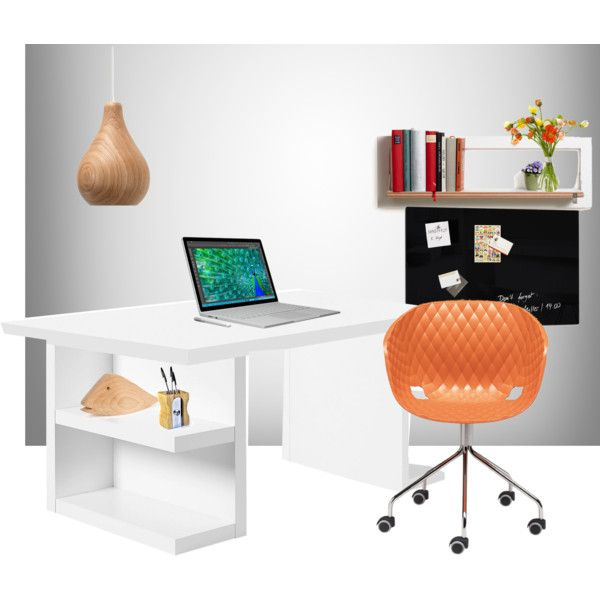 Office Style from lovethesign.com by dundiddit on Polyvore featuring interior, interiors, interior design, Casa, home decor, interior decorating, TemaHome, Metalmobil, Ex.t and Internoitaliano