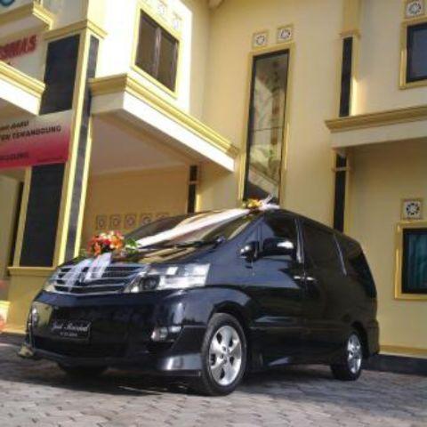 Alphard Wedding Car