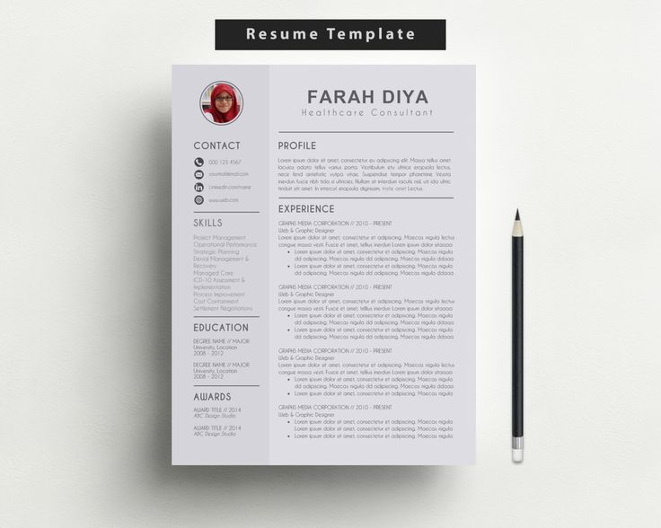 Best Cv On The Go Images On   Resume Design Design