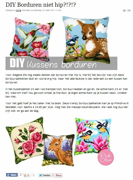 DIY Borduren niet hip