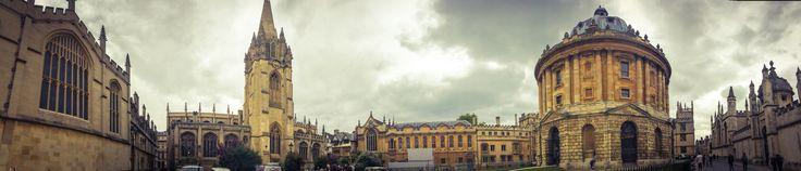 Radcliff Camera. Oxford, UK. September 2015.