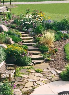 1000+ ideas about Rock Steps on Pinterest | Retaining Walls, Stone ...