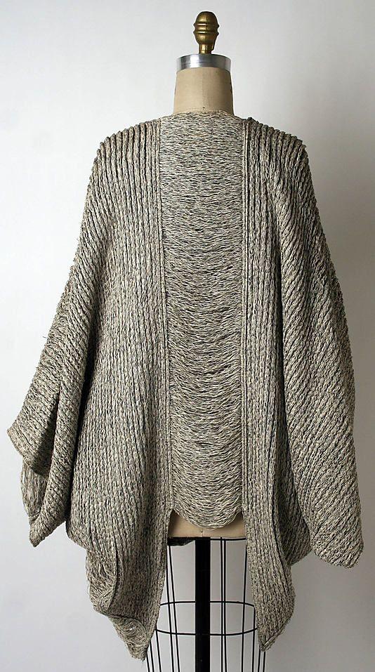 Issey Miyake Design Studio @1984 back Met Collection