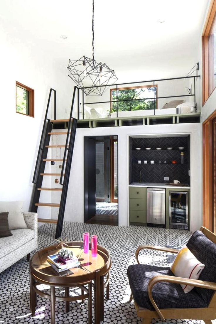 Tiny Home with Casual Cool Style Decor Ideas |