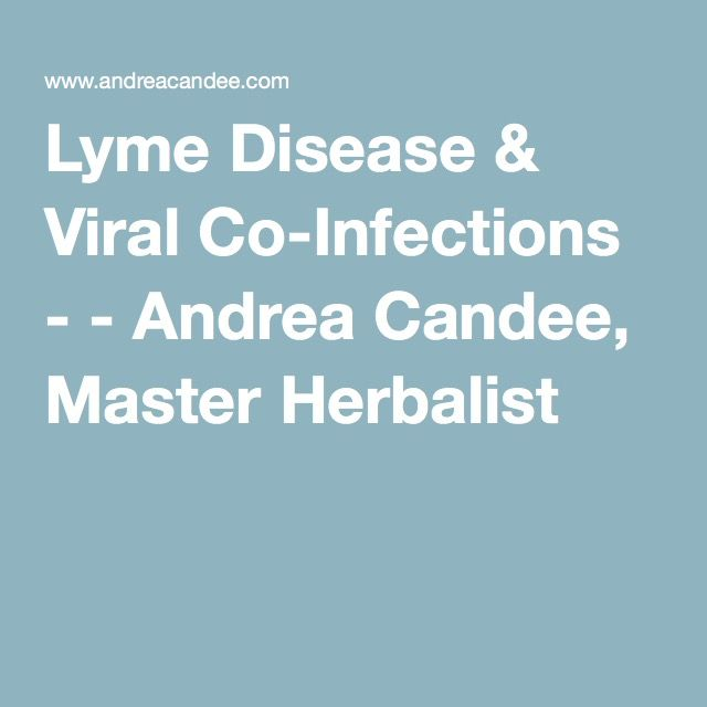 Lyme Disease & Viral Co-Infections - - Andrea Candee, Master Herbalist