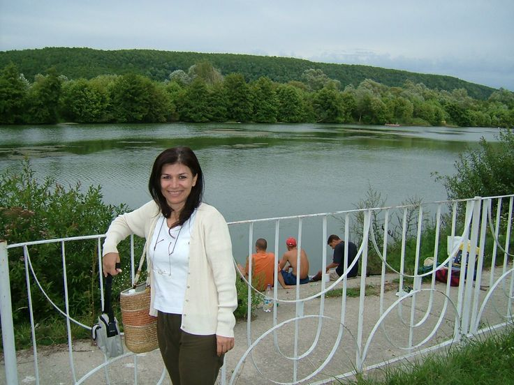A lake in Pitesti Romania