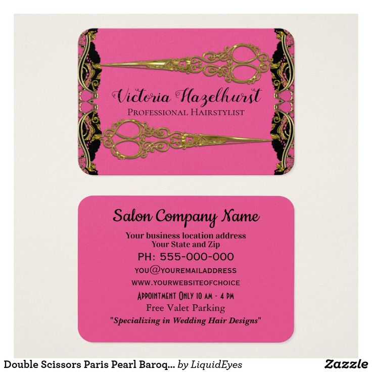 20 best Hair Stylist Business Cards images on Pinterest   Hair ...