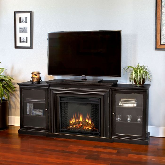 72 Frederick Entertainment Center Electric Fireplace In 2020