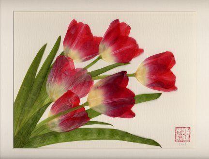 Pressed flowers | DIY | Pinterest