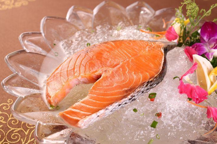 #delicious #food #salmon #ice #eat
