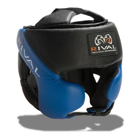 Rival RHG-Pro Training headgear. Black & Blue version.