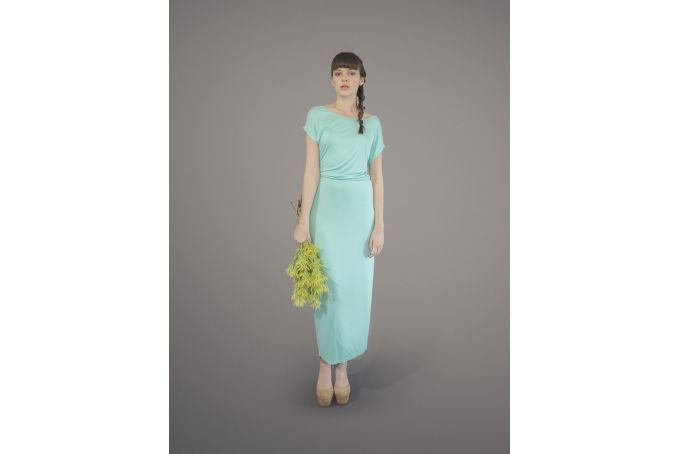 Friday I'm In Love Maxi - Mint by Blackeyed Susan Clothing