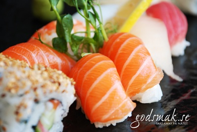 Fresh is Sushi. Nonni. http://stockholm.godsmak.se/nonni-sushi--kok/lunch