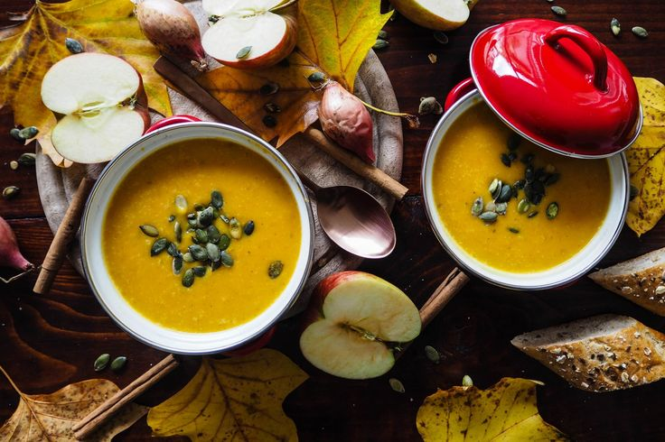 Pumpking apple soup from my blog– A small Adventure