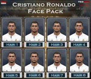 PES 2017 Cristiano Ronaldo dos Santos Aveiro Pack by Mo Ha