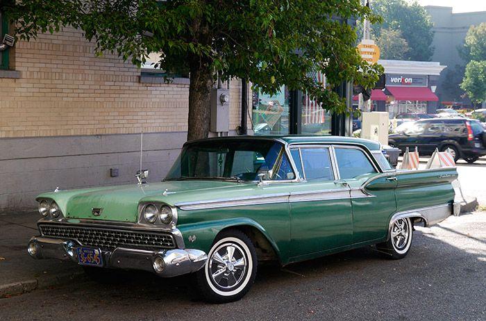 イメージ0 - 1959 フォード・フェアレーン500 ギャラクシーの画像 - 消え行くアメリカ車たちを追って - Yahoo!ブログ