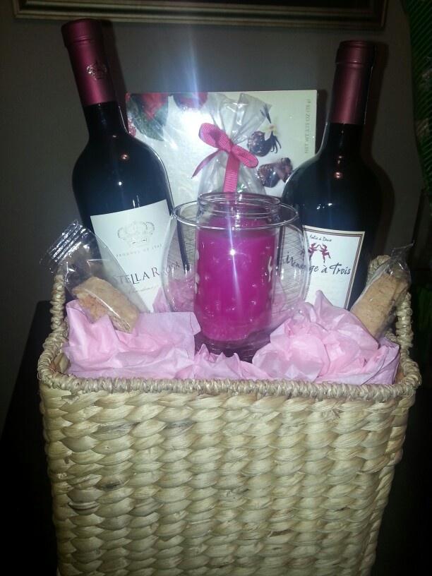 Wine basket 28 best Wine basket images