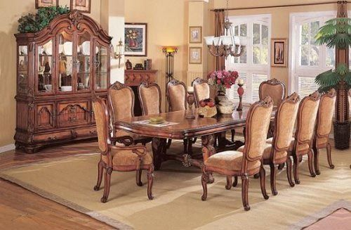 Beautiful Dining Room Set For Big Family Furniture Ideas Pinterest