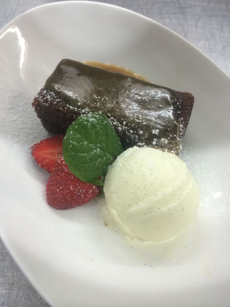 Sticky date pudding is always a favourite in Clyde Park's weekend bistro!