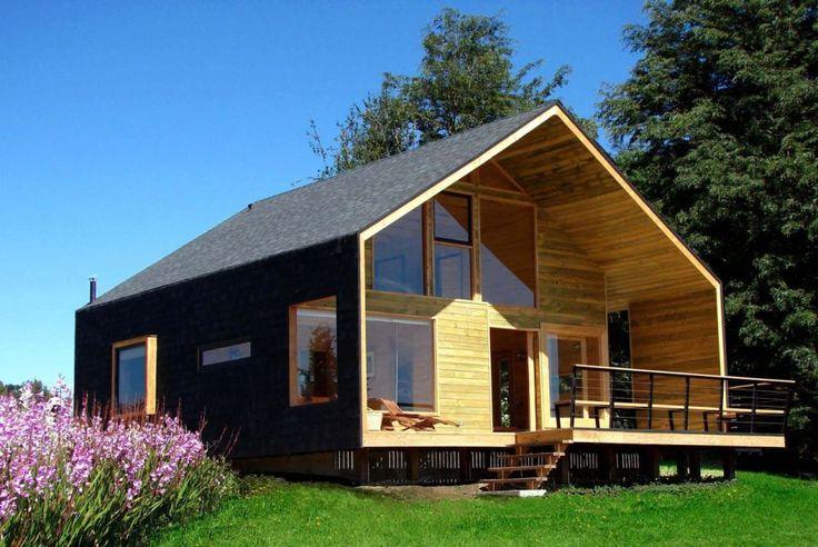 les 408 meilleures images du tableau maison ossature bois sur pinterest extension maison abri. Black Bedroom Furniture Sets. Home Design Ideas