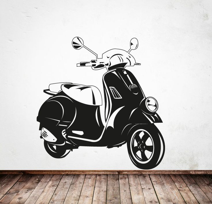 Classic vespa for Vespa decoracion