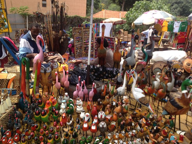 Birds @ Maasai Market, Nairobi