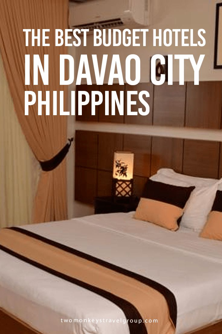 The Best Budget Hotels in Davao City, Philippines Providing you the ultimate list of the BEST BUDGET HOTELS DAVAO CITY – includes rates, locations and great reviews that will definitely help you with your stay in Davao City.