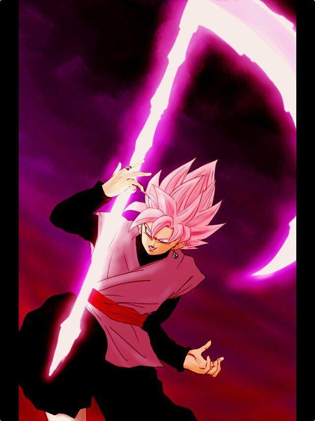 Black Goku Goku Black Super Saiyan Dragon Ball Anime