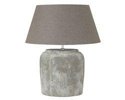 Verlichting ? LEEN BAKKER: materiaal terracotta, kleur grijs. 30 x 42 cm