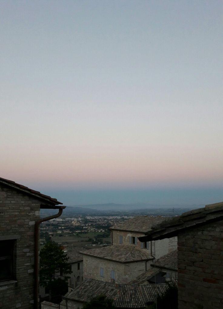 Alba ad Assisi