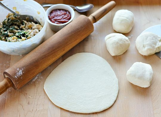 Five Other Ways to Use Pizza Dough: 1. Calzones 2. Pitas and Flat Breads  3. Crackers 4. Dinner Rolls 5. Baguettes