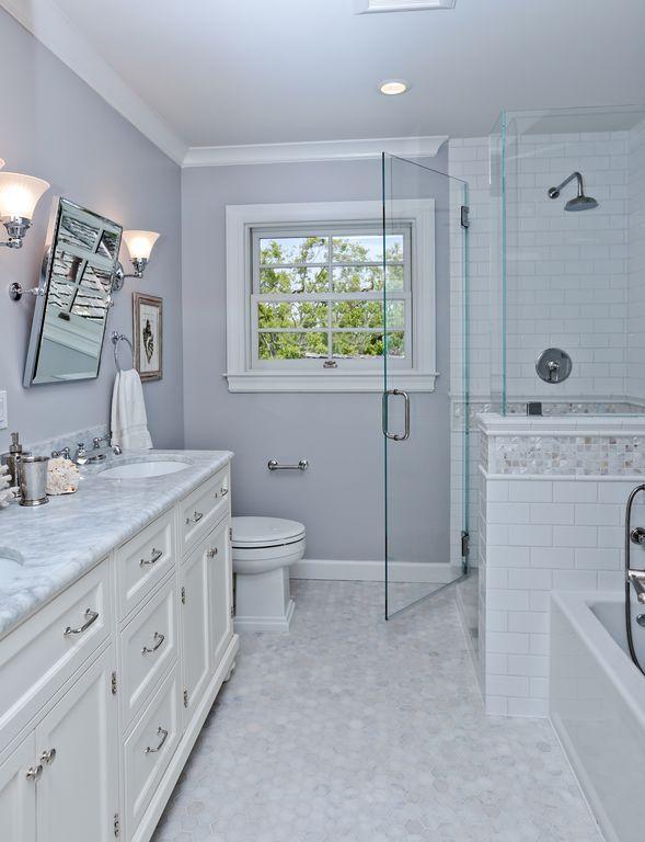 Best Traditional Full Bathroom With Rain Shower Head Flush 640 x 480