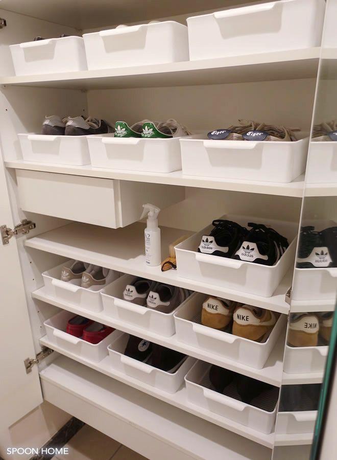 靴の収納方法とアイデアのブログ画像【2019】