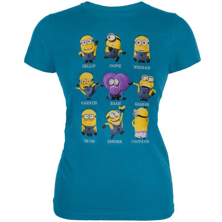 Despicable Me - Minion Talk Juniors T-Shirt