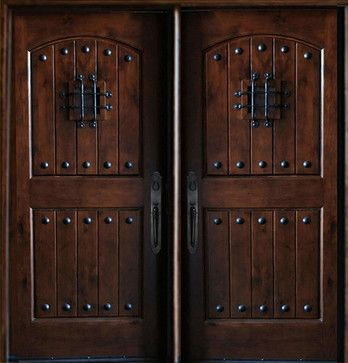 Best 25 rustic front doors ideas on pinterest stained front door front doors and farmhouse for Western building products exterior doors