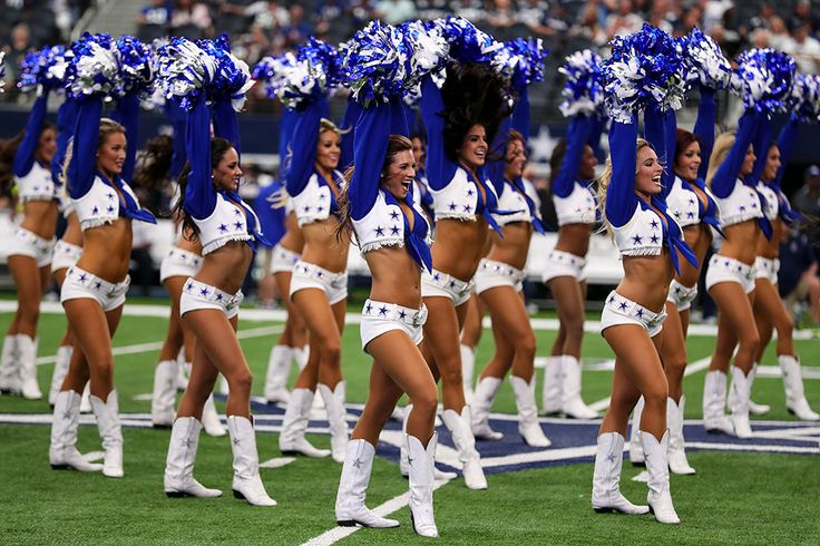 Dallas Cowboys : NFL cheerleaders during 2016 season
