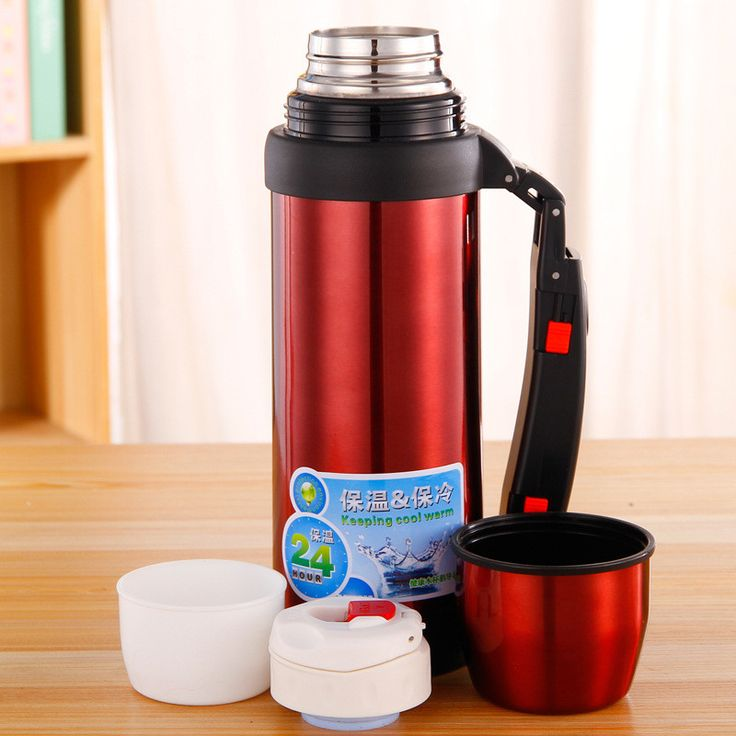 NEW Stainless Steel Drinkware Vacuum Thermos 1L for Outdoor Fun & Sports Thermal Flask Coffee & Beverage Water Bottle Hot Cold $67.97   #streetstyle #instalike #beauty #cool #beautiful #vintage #ootd #glam #cute #styles #shopping #love #swag #instastyle #stylish