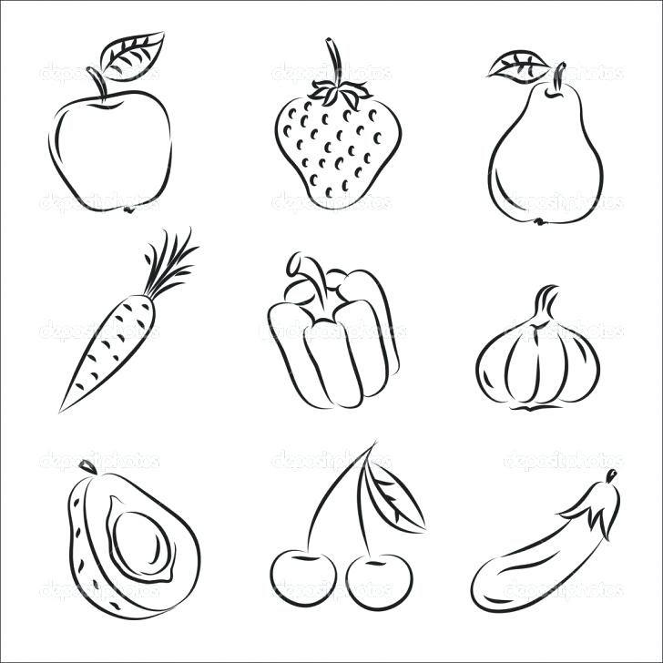 Fruits Drawing Worksheets Easy Fruit Basket Artists Step By Simple Fruits Drawing Basket Drawing Vegetable Drawing