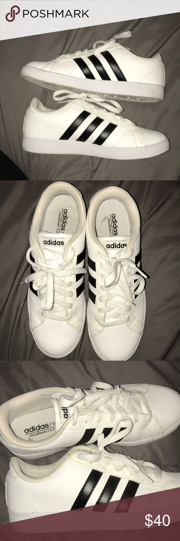 Adidas neo Lightly worn- never really fit me. adidas Shoes