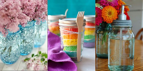 Mason jar crafts a list of 27 easy and creative ideas for Creative things to do with mason jars