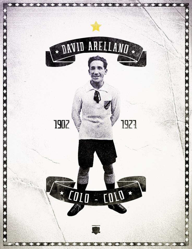 El gran David Arellano , fundador de Colo Colo