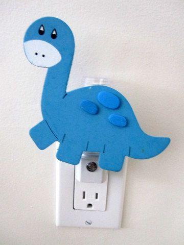 Dinosaur Night Light  Baby room nursery animal #pinparty