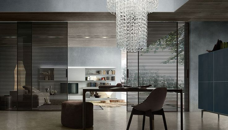 STRIPE SLIDING DOORS by RIMADESIO available at Haute Living