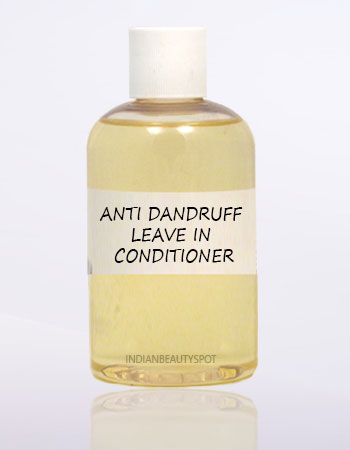 DIY Anti Dandruff leave in spray Conditioner to enrich & nourish hair.