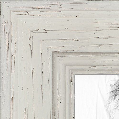 arttoframes 24x36 inch off white stain on solid wood wood picture frame wom0066 78238 ywht 24x36