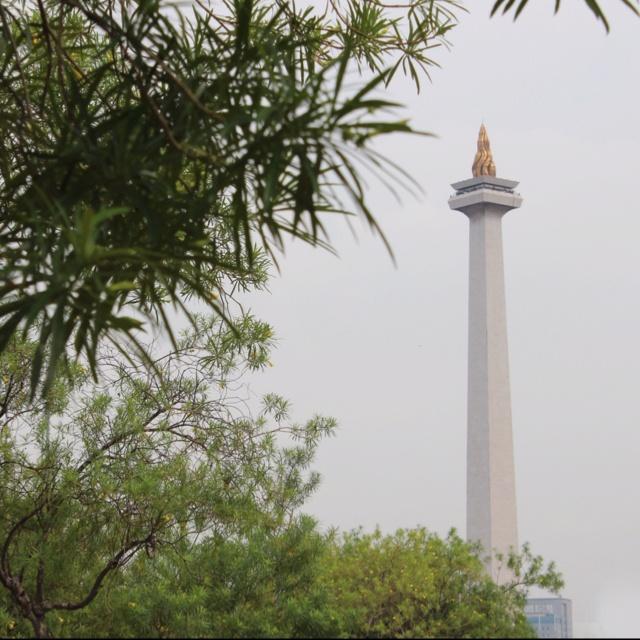 Monas Tower Jakarta Indonesia  #monas #jakarta @kakday